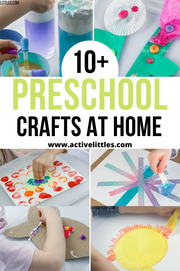preschool crafts at home