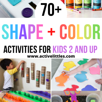 shape and color activities for kids