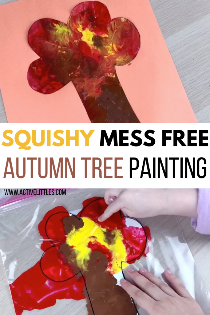 squishy autumn sensory bag