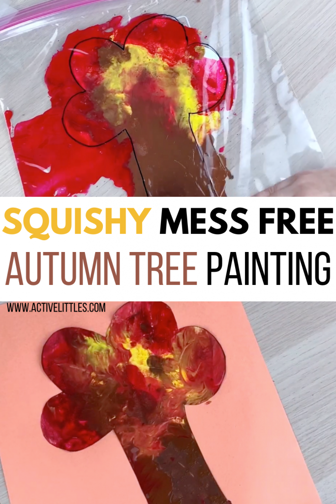 squishy fall sensory bag for kids