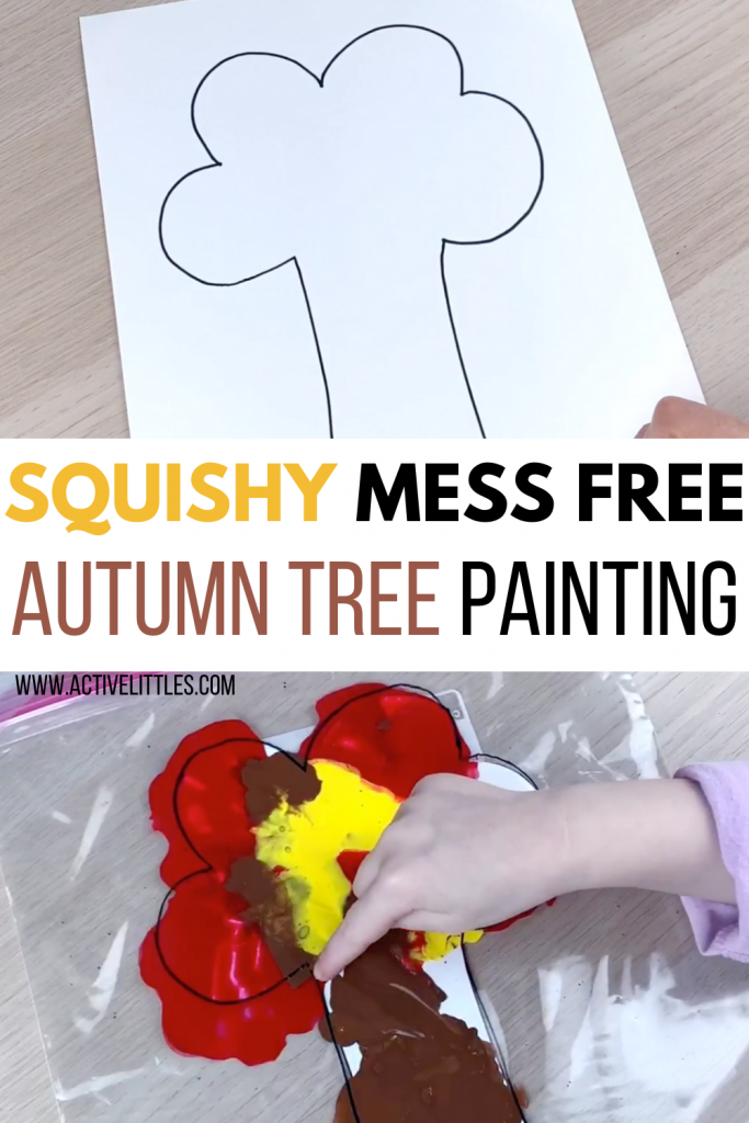 squisy fall sensory bag