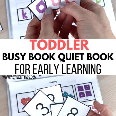 toddler busy book toddler quiet book