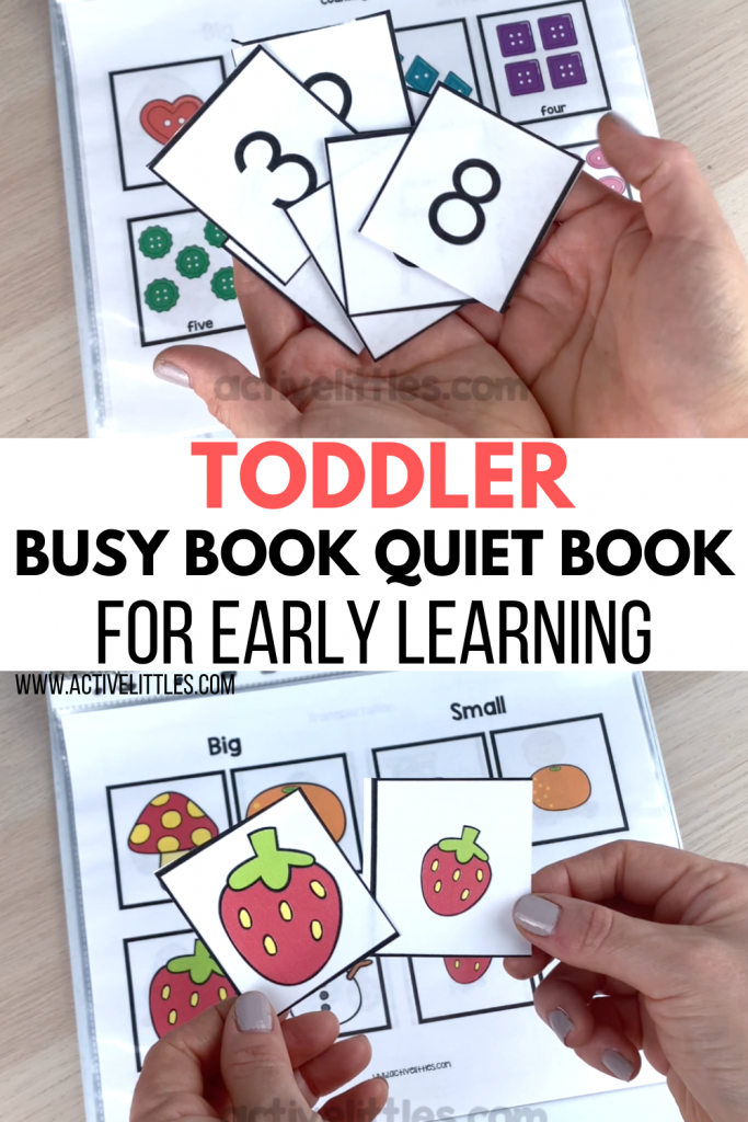toddler quiet book printable