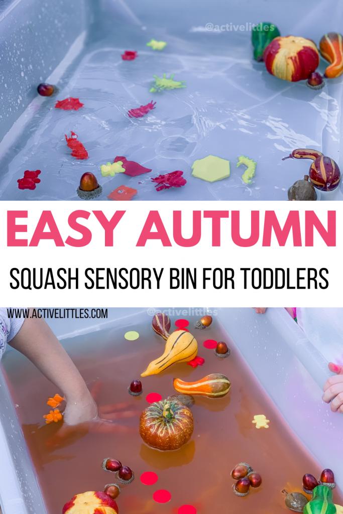 easy autumn sensory play idea for kids