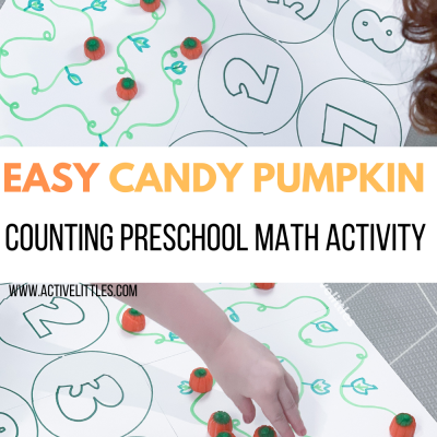 easy candy pumpkin patch counting math activity