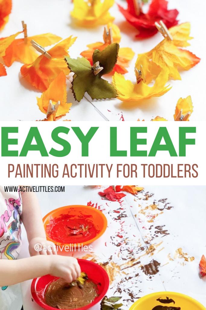 easy leaf activity for kids