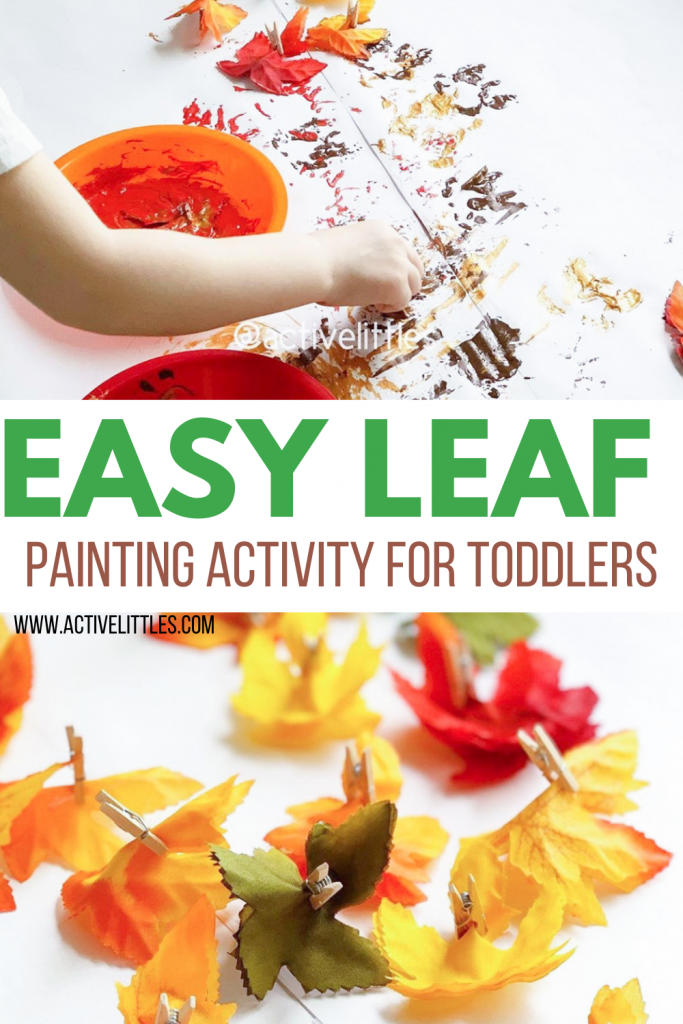 leaf activity for toddlers