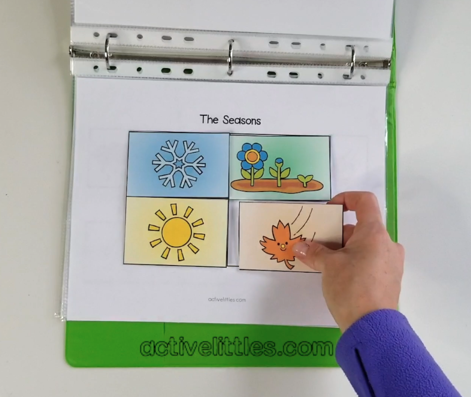 preschool busy book quiet book