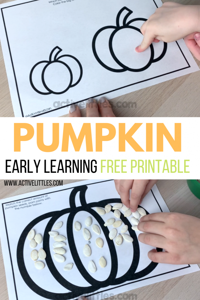 pumpkin free printable kids activity