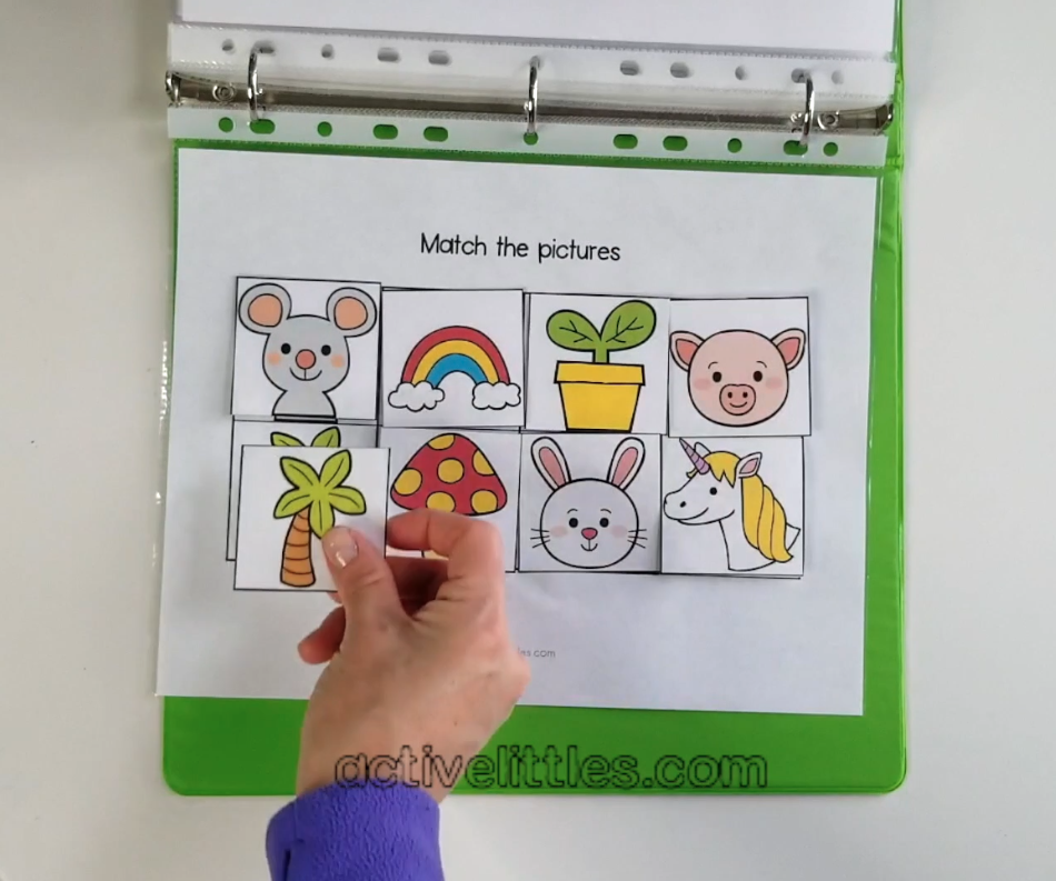 toddler busy book