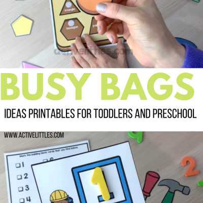 busy bags ideas toddlers preschool