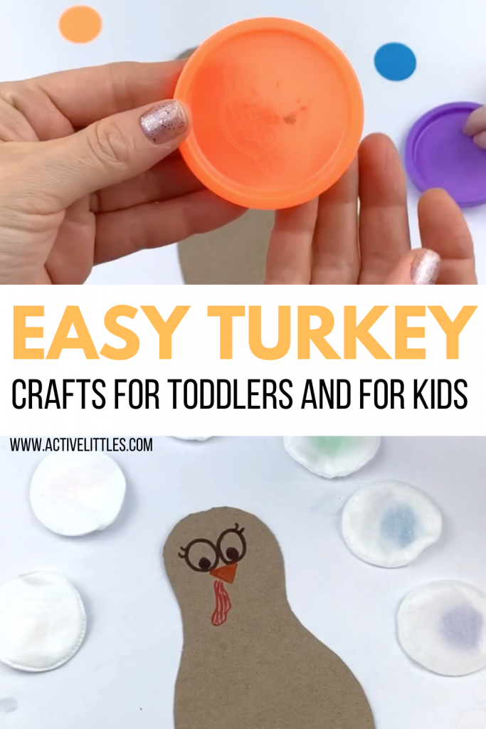 easy turkey crafts for toddlers and for kids