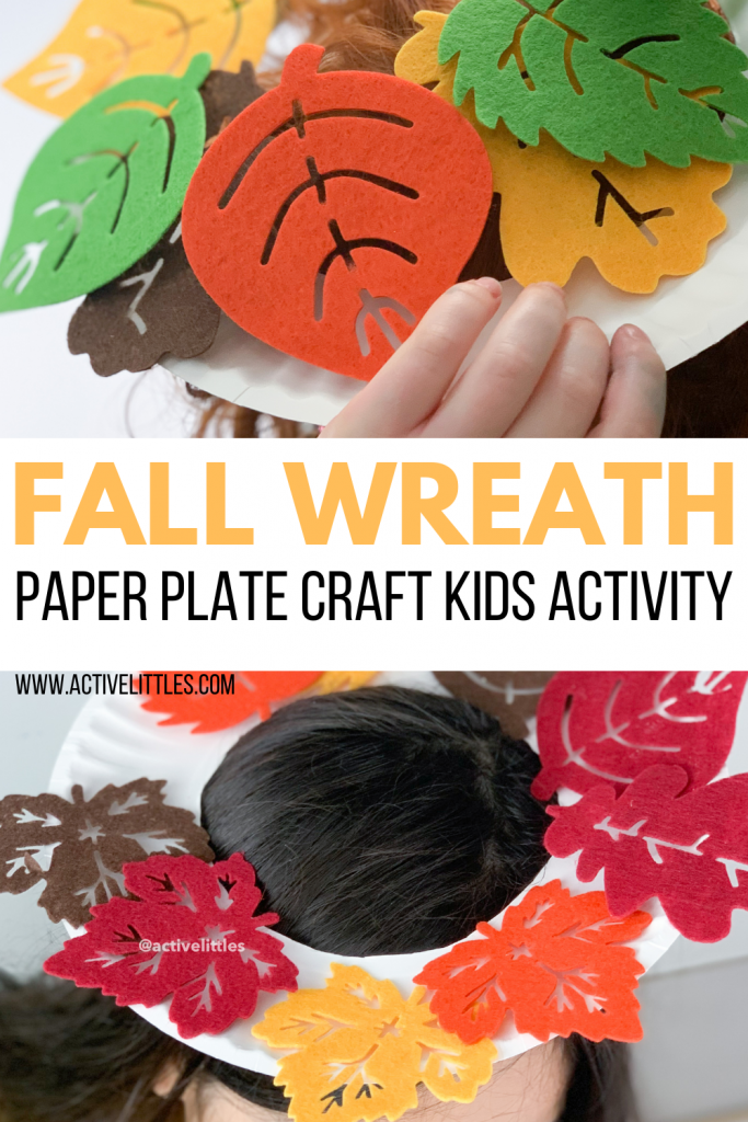 fall wreath craft for kids