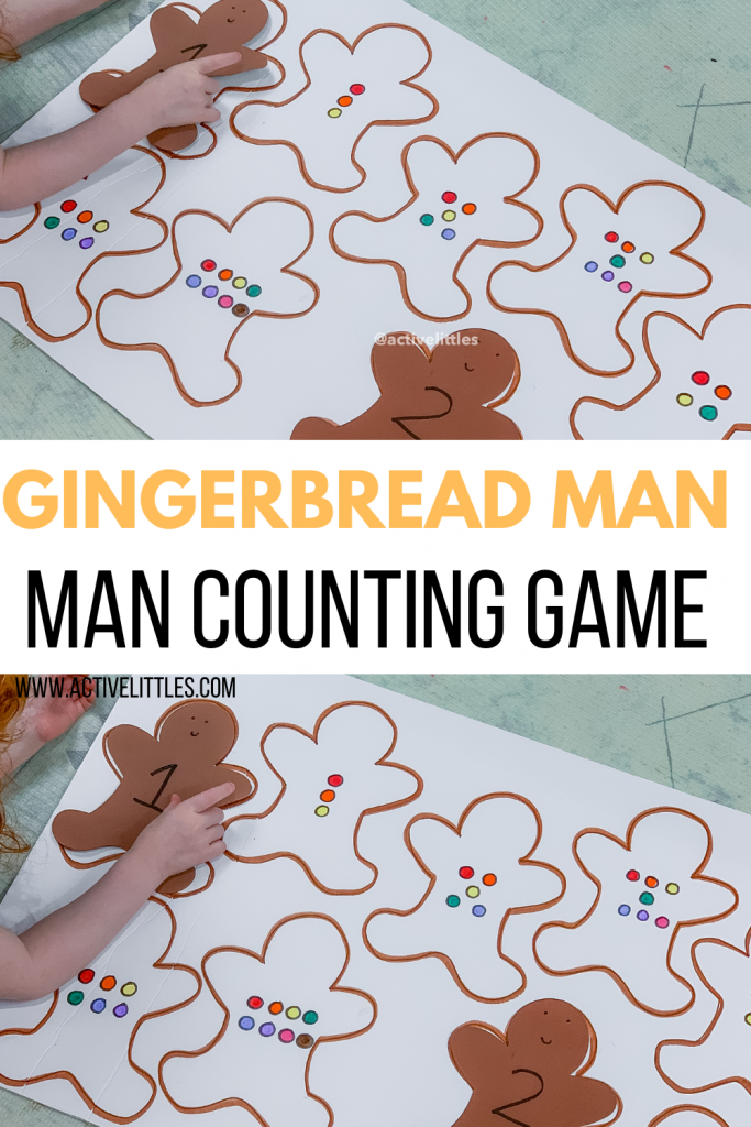 gingerbread man counting game