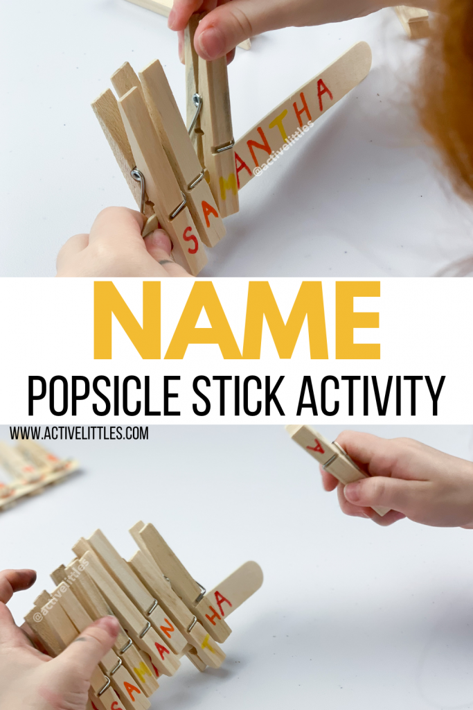 name activity fine motor activity