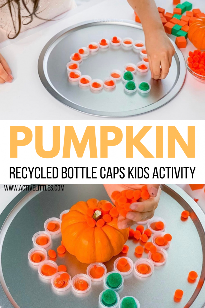 pumpkin crafts for kids recycled play