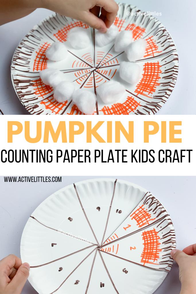 pumpkin pie craft