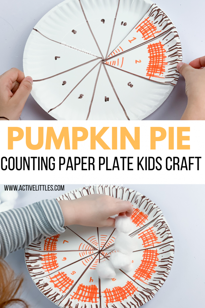 pumpkin pie kids craft