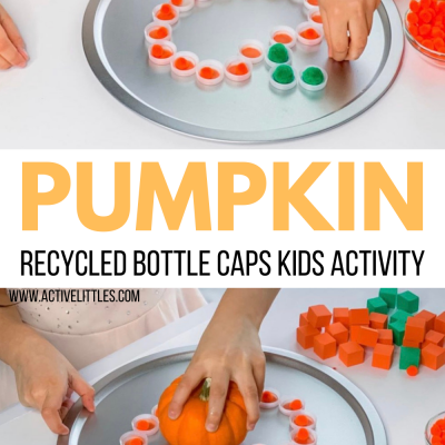 pumpkin recycled crafts for kids
