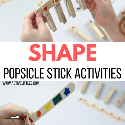 shape activity for kids craft