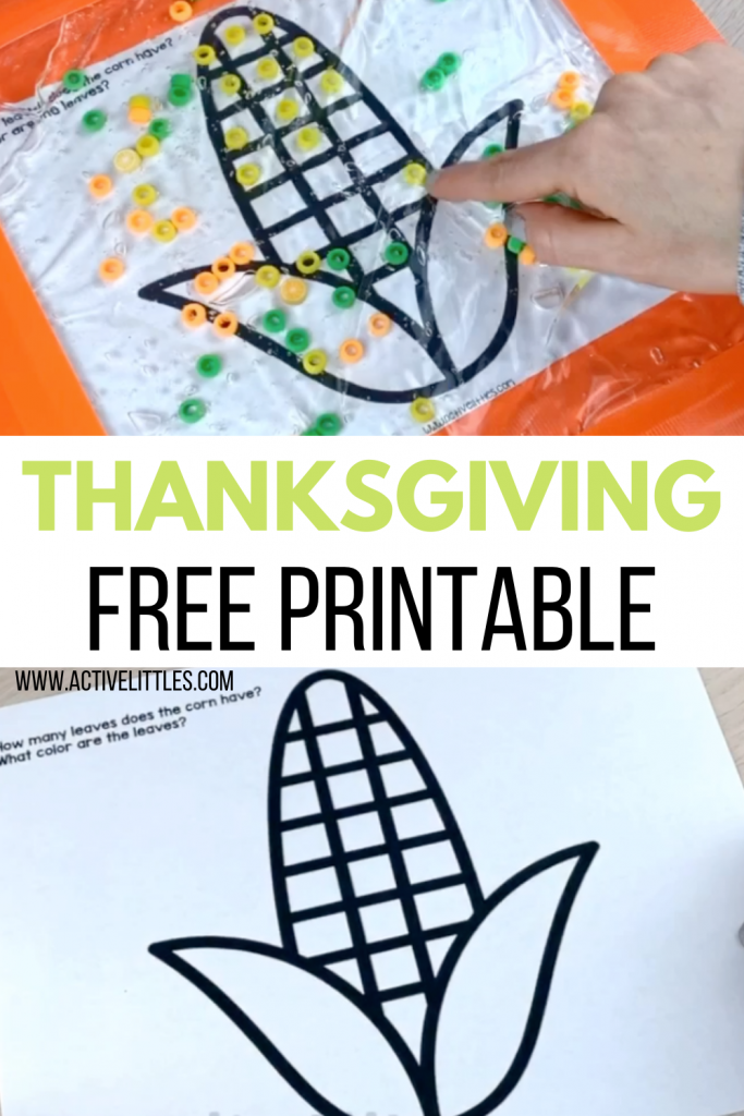 thanksgiving free printables for kids