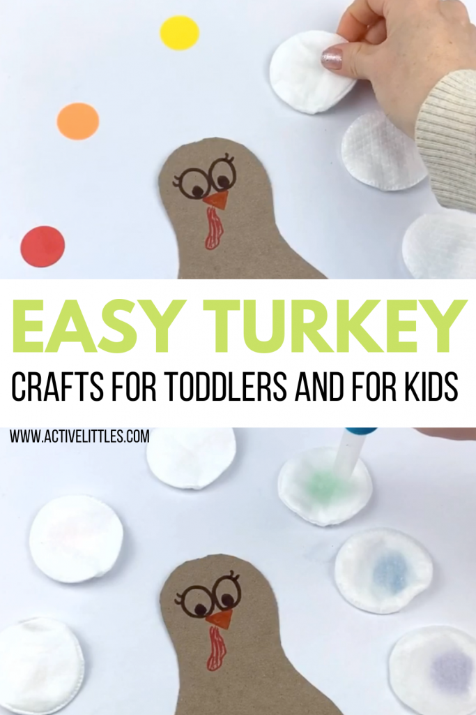 turkey crafts for toddlers and kids