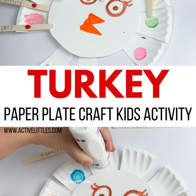 turkey paper plate kids craft