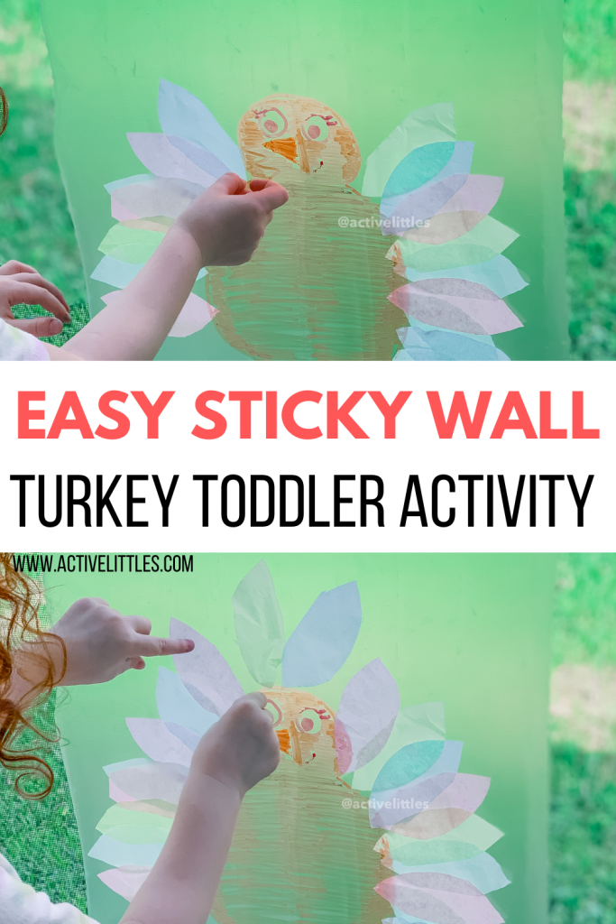 turkey thanksgiving contact paper sticky wall for kids