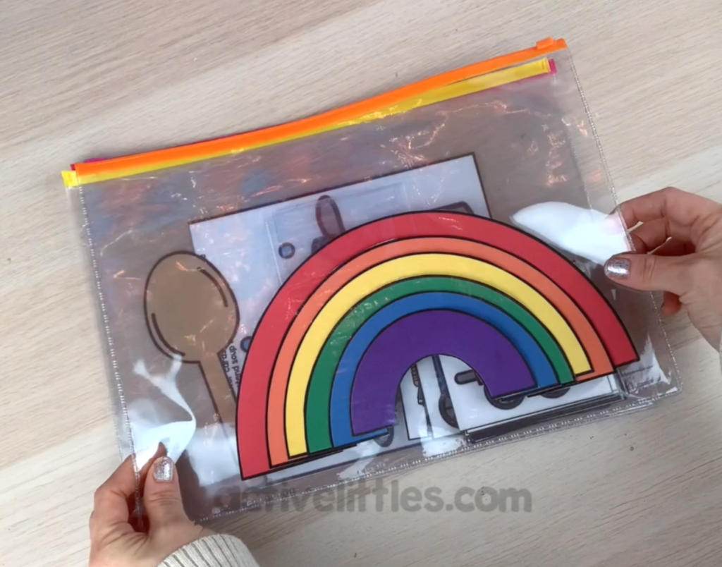 bisy bag printables for kids