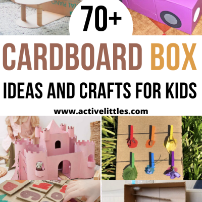 cardboard box ideas and crafts for kids