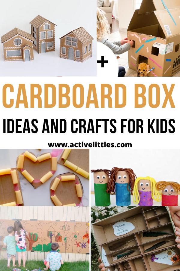 cardboard box ideas for kids