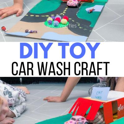 diy toy car wash craft