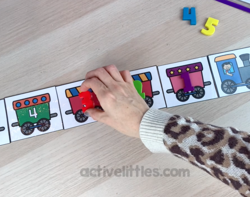 early years math preschool printable