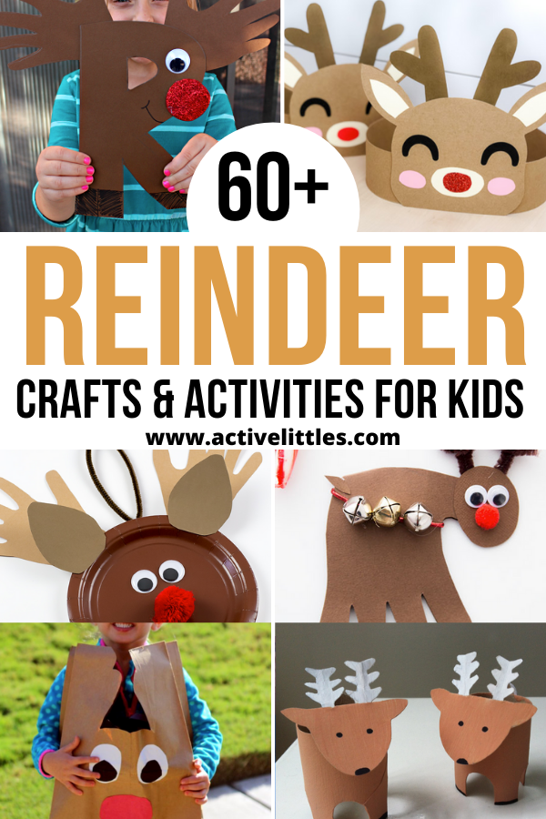 easy reindeer crafts and activities for kids