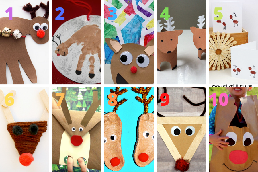 easy reindeer crafts for toddlers