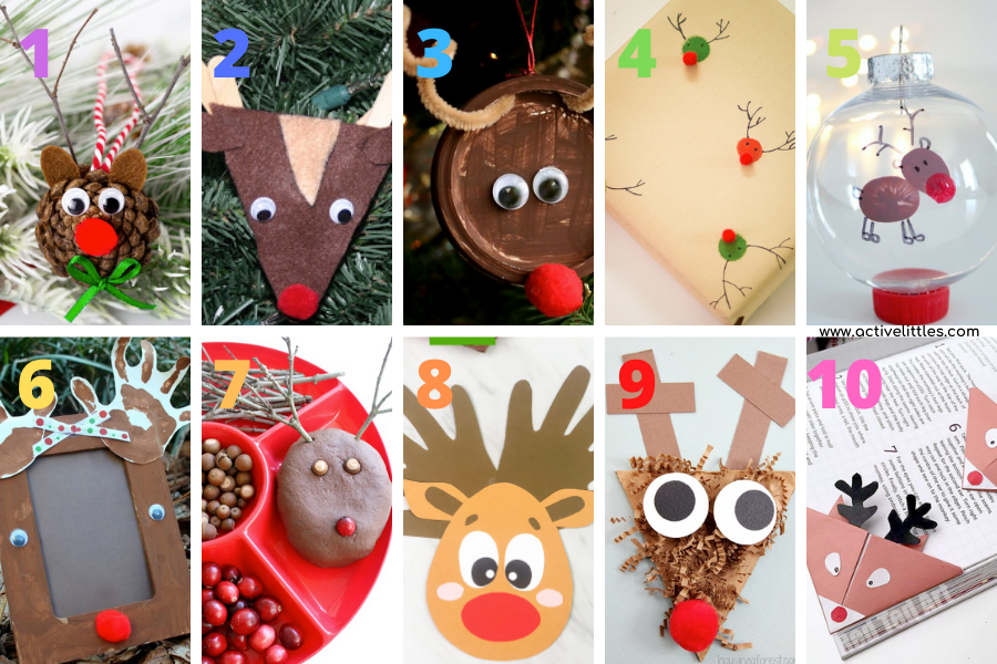 easy reindeer crafts to make