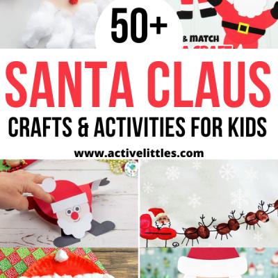 easy santa crafts for kids