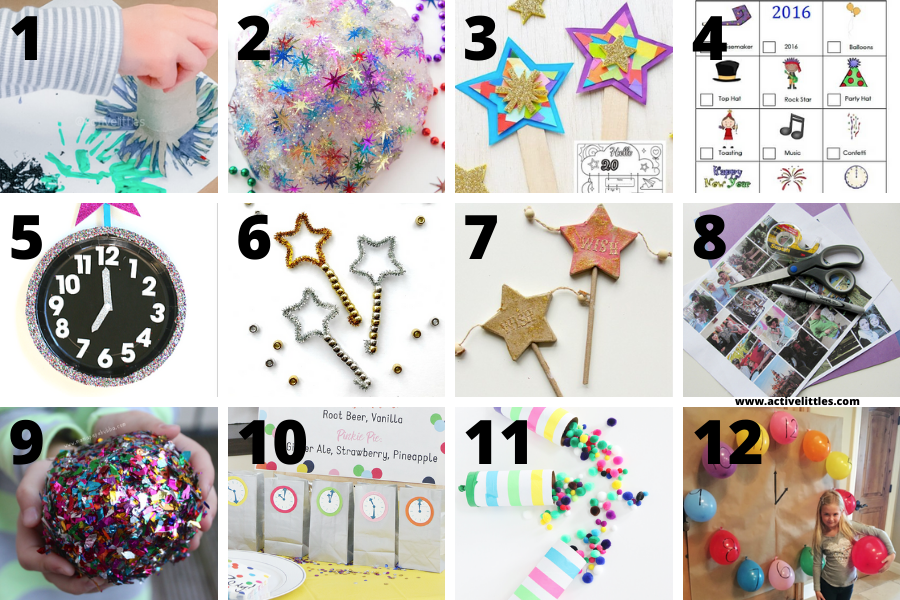 fun activities for kids on new years eve