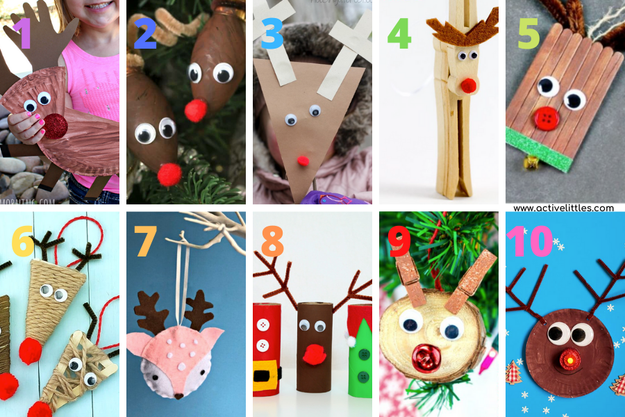 fun reindeer craft ideas