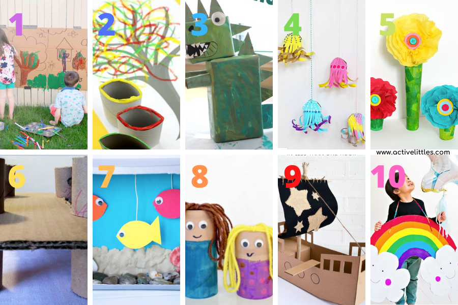 ideas for crafts for kids
