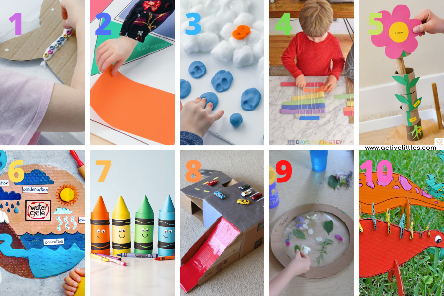 kids crafts ideas for early learning