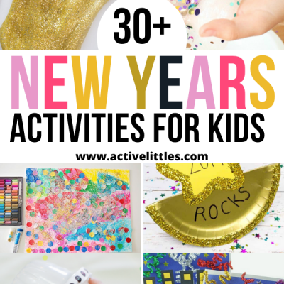 new years activities for kids
