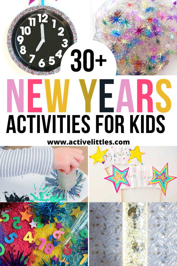 new years activities for kids toddlers preschool