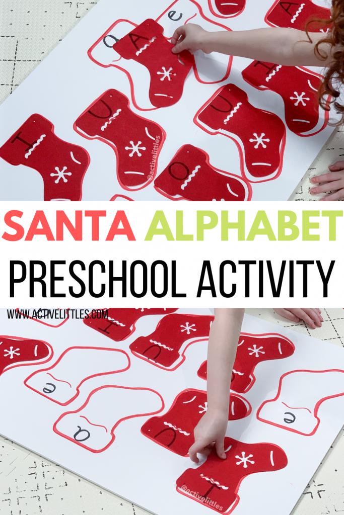 snowman alphabet matching preschool activity for kids