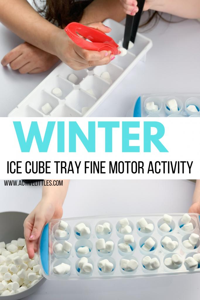 winter fine motor activity for kids
