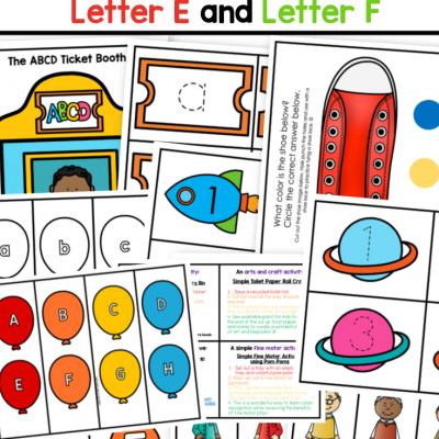 busy bag printable ideas preschool