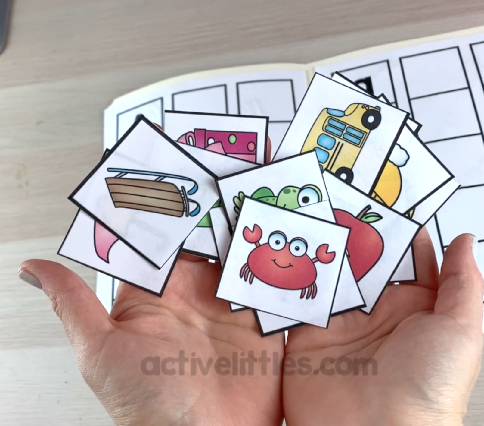 alphabet learning activities for kids