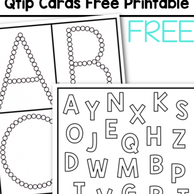alphabet qtip cards free printable for kids