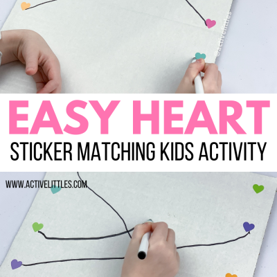 easy heart sticker matching activity for kids