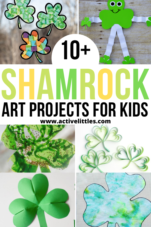 easy shamrock art projects for kids